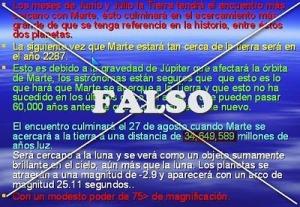 Mail Marte Falso
