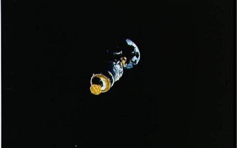 La sonda Galileo en el espacio